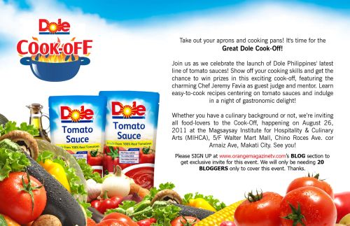Great DOLE Cook-Off