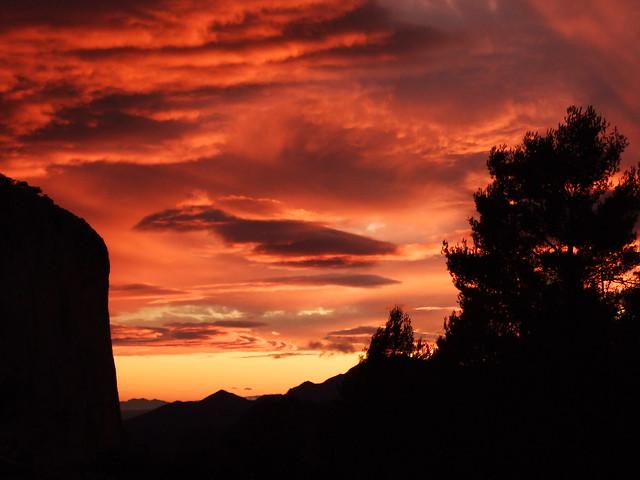 Guhyaloka sunset 2