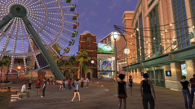 PlayStation Home - Pier Park