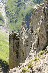 Upwards (Elysium 2010) Tags: mountains landscape cliffs intyamon forealps westernalps pointedeparay hautegruyre tsavas