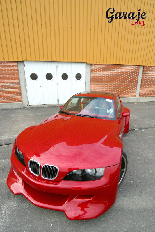 1998 M Coupe | Imola Red | Imola/Black | Widebody Custom M Coupe