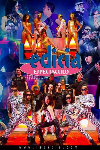 Orquesta Ledicia Espectáculo 2011 - cartel