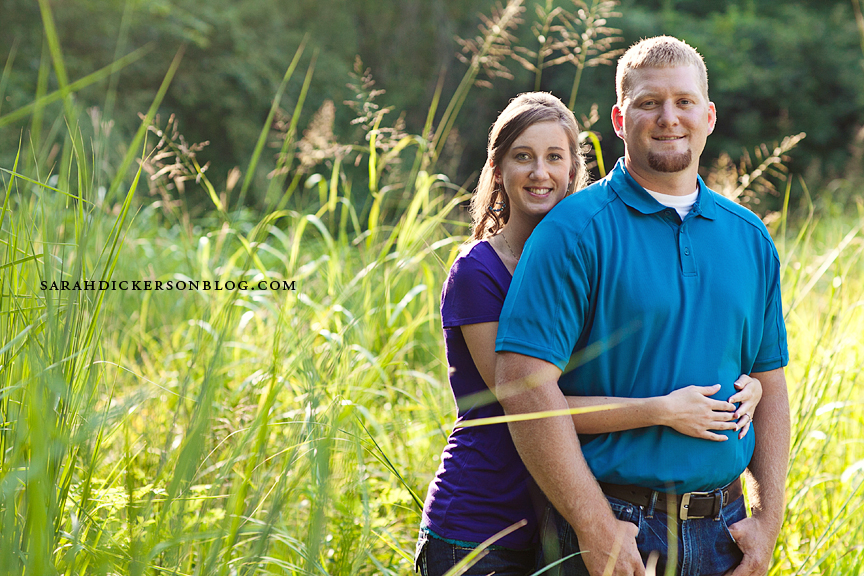 Parkville engagement photography
