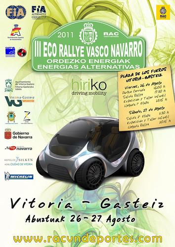 III Eco Rallye Vasco Navarro