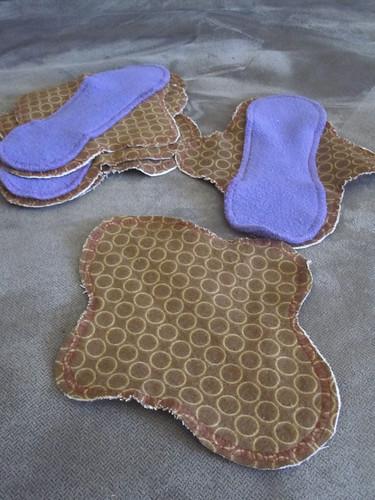 Homemade cloth liners