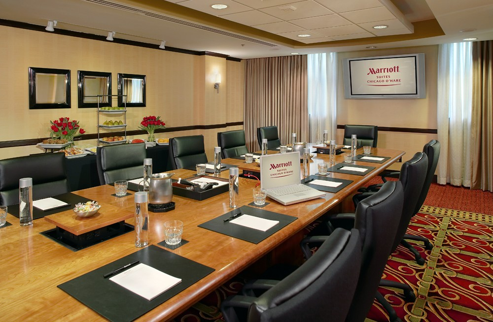 Marriott Suites Chicago O'Hare Hotel Meeting Rooms