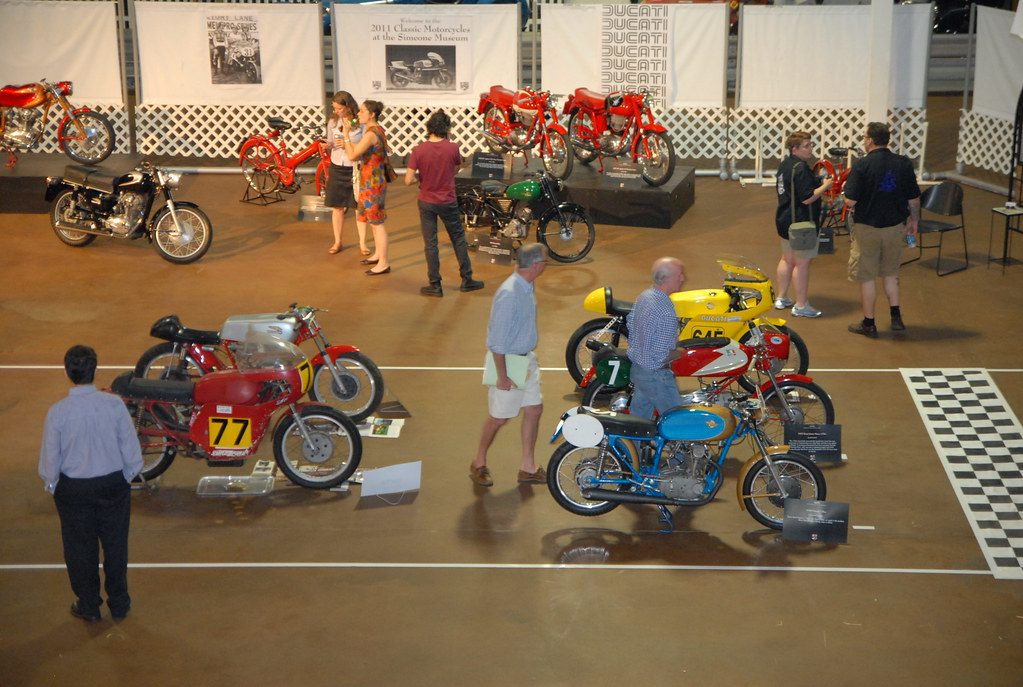 Classic Motorcycle Show at the Simeone