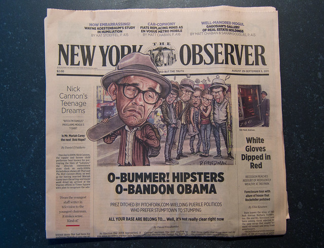 New York Observer Relaunches as a Broadsheet