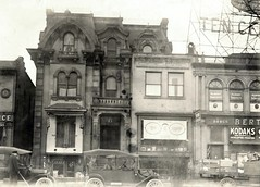 6 adams ave (southofbloor) Tags: street house building architecture lost downtown adams circus detroit victorian grand historic ave empire second mansion destroyed demolished mansard