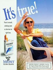 image12 (behindthesmoke) Tags: true truth cigarette ad advertisement merit positive tobacco vantage fact behindthesmoke manipulativeads reassuringbrand