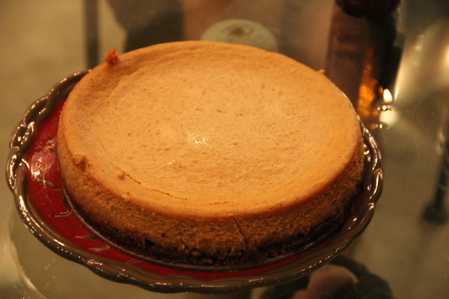 Josie's Pumpkin-Onion Cheesecake