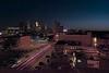 Greetings From Minneapolis (Doug Wallick) Tags: street cars field minnesota skyline truck fire evening mural key downtown north minneapolis aerial east target greetings streaks picnik lightroom a230 explored