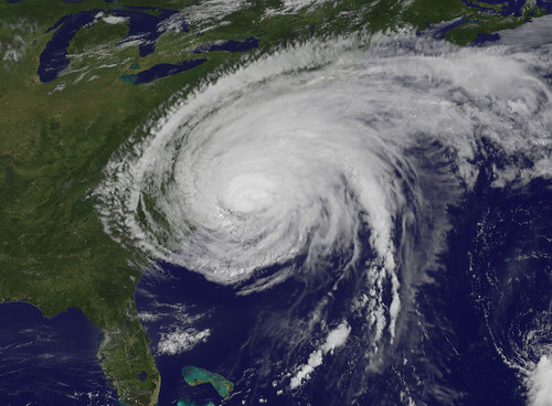 Hurricane Irene Makes Landfall in North Carolina