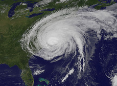 Hurricane Irene Makes Landfall in North Carolina (NASA Goddard Photo and Video) Tags: irene goddard hurricaneirene nasaimage hurricane2011 nasasatelliteofirene