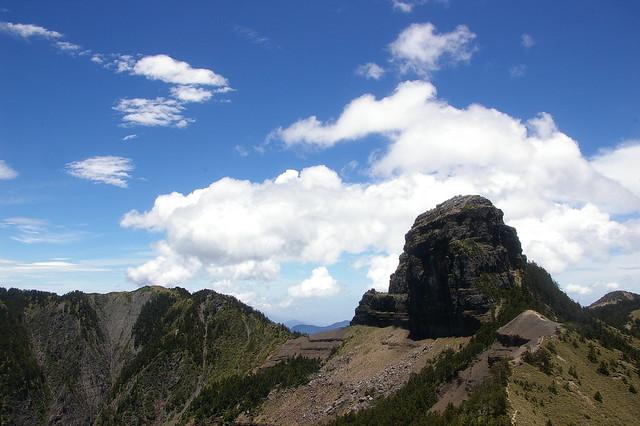 遲來的端午節上山 - 大霸群峰