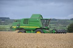 John Deere 9580WTS Combine Harvester (Shane Casey CK25) Tags: county irish field barley work john outside corn cork wheat farming grain harvest combine agriculture oats deere harvester 2011 rathcormac 9580wts