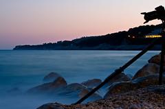 star sea stem (safran83) Tags: mer evening tripod soir cassis mditerrane d7000