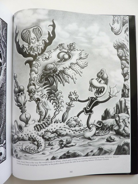 The Frank Book (Hardcover Edition) by Jim Woodring -
