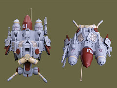 Ma.K - MH 30 Kraft Falter (Fredoichi) Tags: fighter lego space military scifi shooter mak shootemup starfighter maschinenkrieger shmup dieselpunk fredoichi