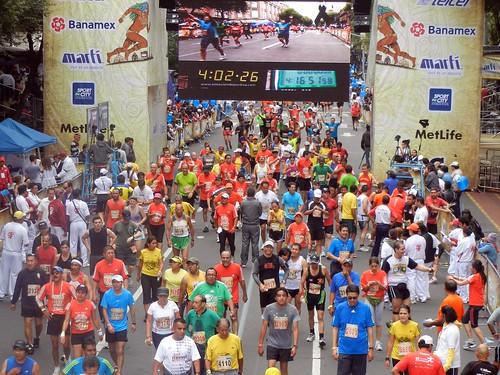 Maraton de la Ciudad de Mexico 2011 413