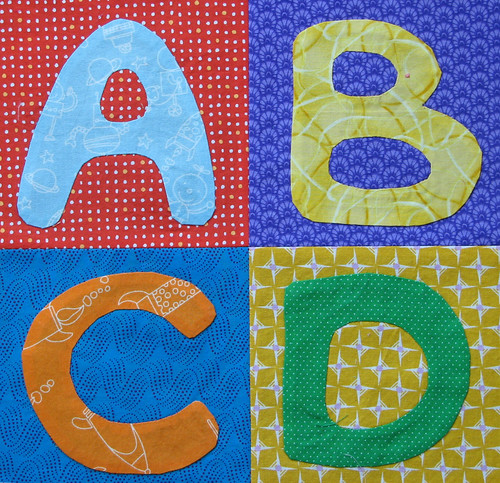 Letters Applique