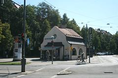 Warteraum - Kiosk Nymphenburger Straße - Ostseite