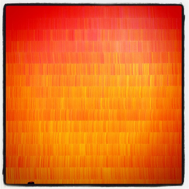 Orange. #art #modern