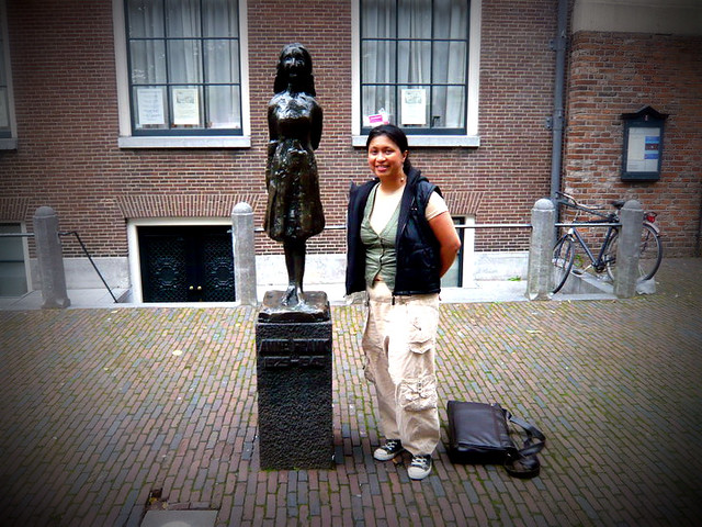 Anne Frank Statue 2010