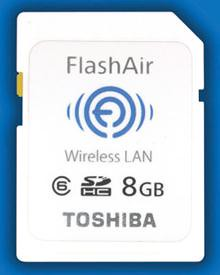FlashAir Wireless LAN