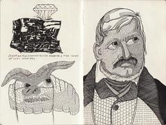 sketchbook (bezembinder) Tags: drawing sketchbook moleskin tekening bezembinder