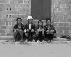 someone else was making them smile (Elf-Y) Tags: mamiya smile vietnam epson v600 tribe sapa hmong rb67 caffenol iso50 adox chs50 adoxchs50
