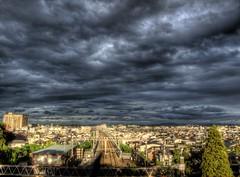 Dark Sky after the Typhoon Passed away (akirat2011) Tags: japan hdr photomatix powershotg11
