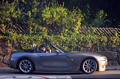 dude in the car,.. (HKPIX) Tags: car dude bmw z4 cabrio spiegelung roadster refelcion