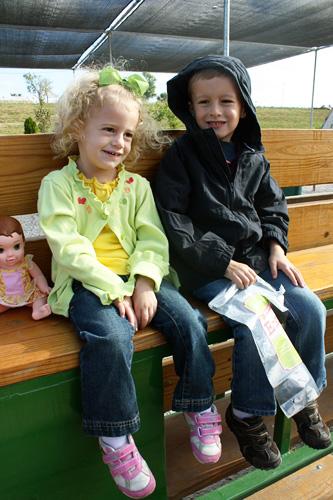 Nathan-and-Autumn-on-wagon