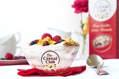 Cereal Club Bircher Muesli (Cereal-Club) Tags: red rot breakfast cereal bowl cereals frhstck msli cerealbowl bircher msl
