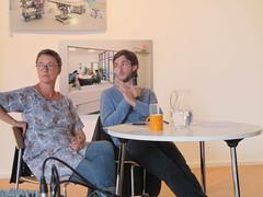 Artist Talk with Murray Ballard (impressions_gallery_bradford) Tags: cryonics murrayballard impressionsgallery theprospectofimmortality