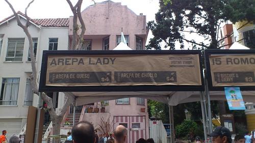 Arepa Lady