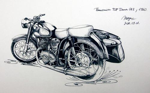 Pannonia TLF Duna OK3 - 1960