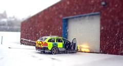 Skoda Tilt-Shift.. Explore#404 (Mike-Lee) Tags: snow toy miniature model sheffield fake shift ambulance tilt effect skoda yas tiltshift middlewood rrv explore404 winter2010 sept2011 minitoytown