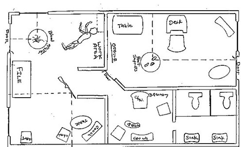 Flickriver: Photoset 'crime scene sketches' by Mr. Shultz's ...