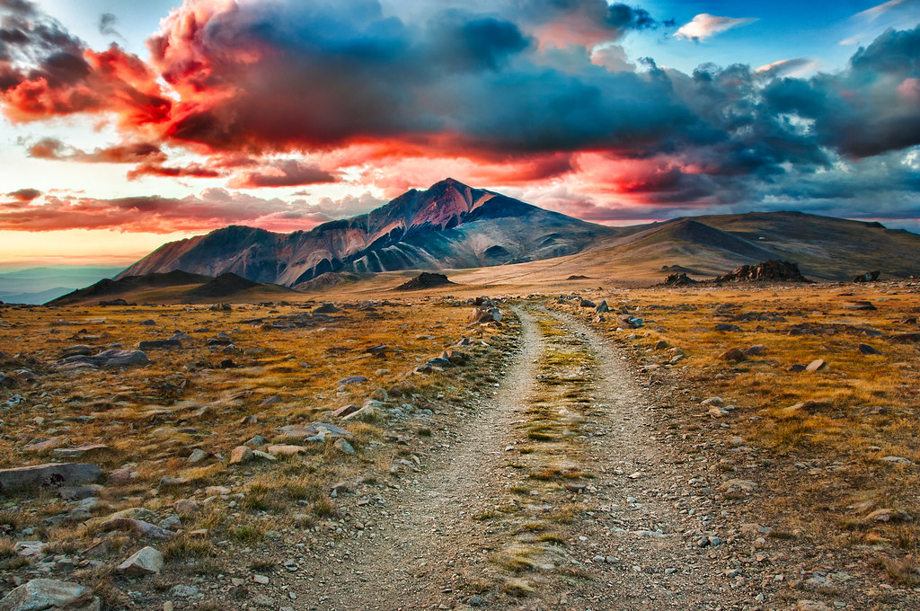 White Mountain Sunset © Harold Davis
