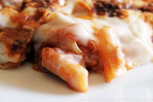 Macarrones gratinados www.cocinandoentreolivos (11)