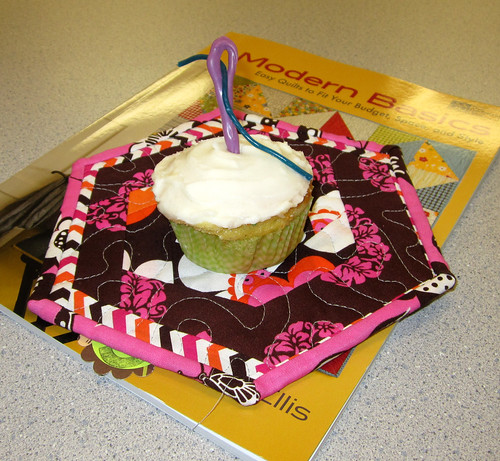 sewing cupcake