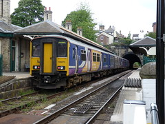 150273 Knaresborough (Beer today, red wine tomorrow.....) Tags: dmu class150 150273 uk railway northernrail knaresborough