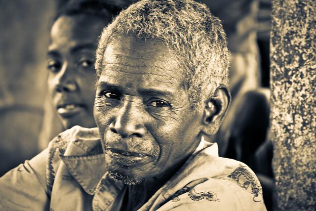 Le grand-père, par Franck Vervial