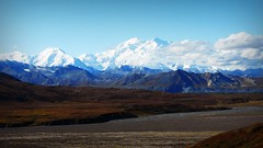 Denali - Mountains - Alaska (blmiers2) Tags: travel blue autumn white mountain snow mountains fall nature alaska clouds landscape nikon coolpix denali s3000 d3100 blm18 blmiers2