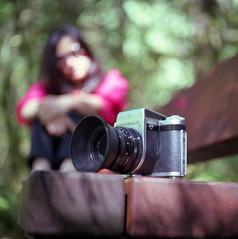 P6 and Her (Jumbo Jack ) Tags: 120 6x6 mamiya film f pro 28 80mm c330 pro400h