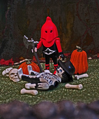 Heads will roll... (Evil Cheese Scientist) Tags: axe playmobil executioner