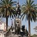 Monumento a San Martin nella Plaza 9 de Julio in Salta