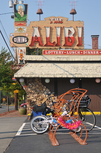 bike parking at The Alibi-3